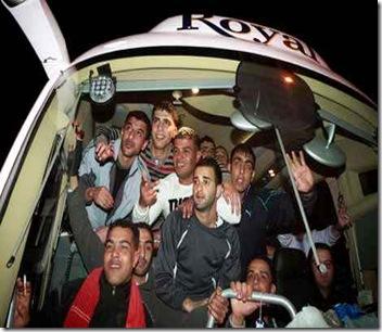pertukaran tahanan palestina