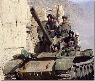 tank taliban