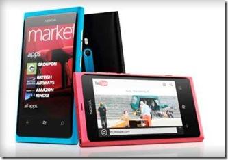 Nokia Lumia 800 dan 710