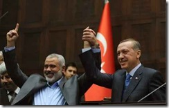 perdana menteri Turki dan Syaikh Khalid mashaal