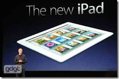 Event Apple iPad 2012