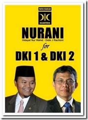 Pilgub Jakartai Hidayat Nur Wahid